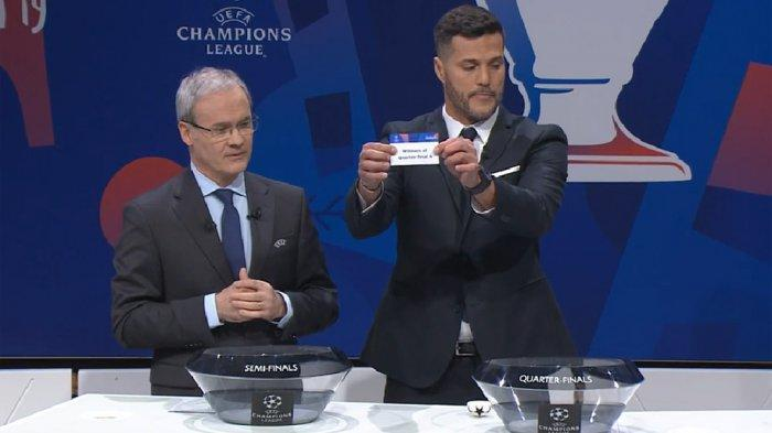 Hasil Undian Liga Champions: Barcelona Bentrok Manchester United, Spurs Lawan Manchester City