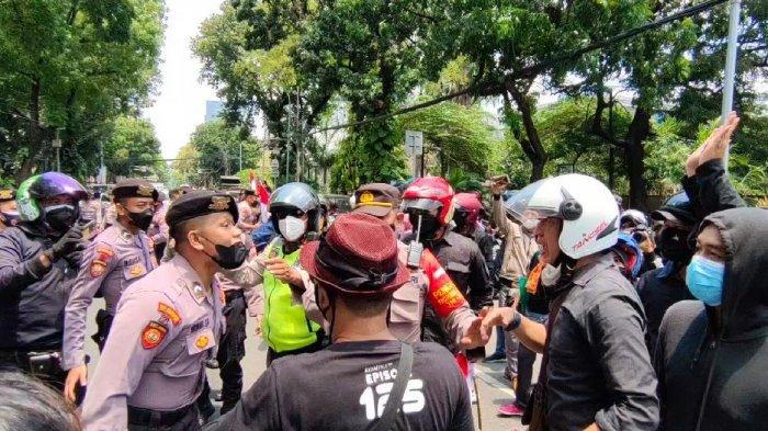 Polres Metro Jakarta Pusat Melarang Keras Unjuk Rasa Saat PPKM