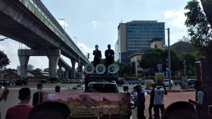 Demo di Mabes Polri, Aktivis Minta Polisi Usut Purnawirawan yang Diduga Salah Gunakan Wewenang