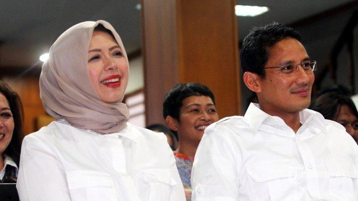 Heboh Soal Model yang Bersedia Jadi Istri Kedua Sandiaga Uno, Akun Nur Asia Uno Bereaksi Tanpa Kata