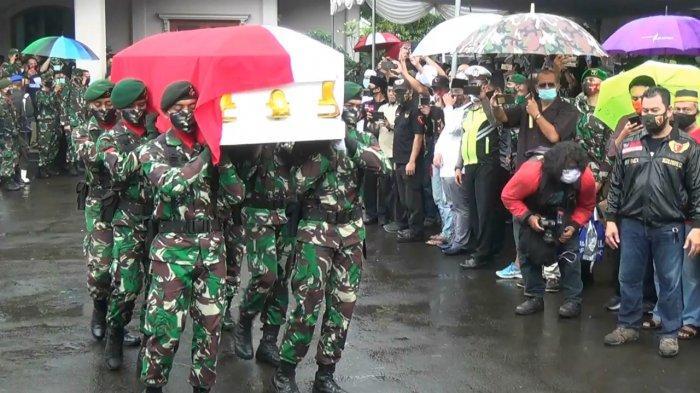 Pandemi Covid-19, Jumlah Prajurit TNI yang Terlibat Pemakaman Djoko Santoso Dipangkas