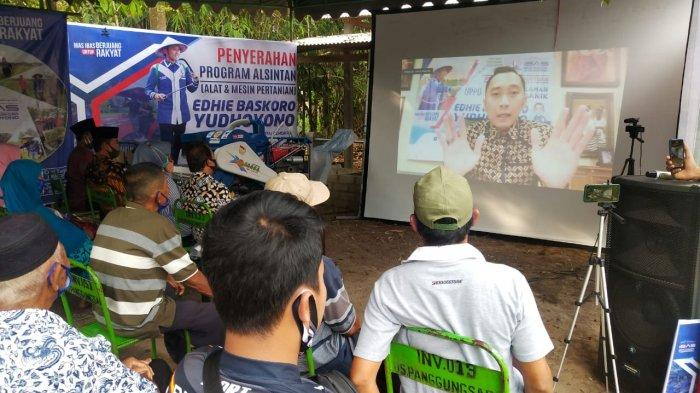 Kawal Program UPPO & Penyerahan Alsintan, Ibas: Petani Produktif dan Sejahtera, Indonesia Maju