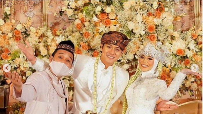 Pernikahan Rizky Billar dan Lesti Kejora.