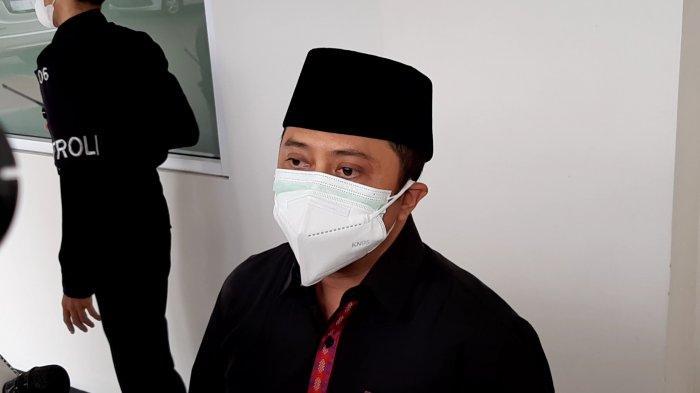 Ustaz Yusuf Mansyur mendatangi RS Yarsi, Jakarta Pusat, guna melihat jasad Syekh Ali Jaber, pada Kamis (14/1/2021) siang.