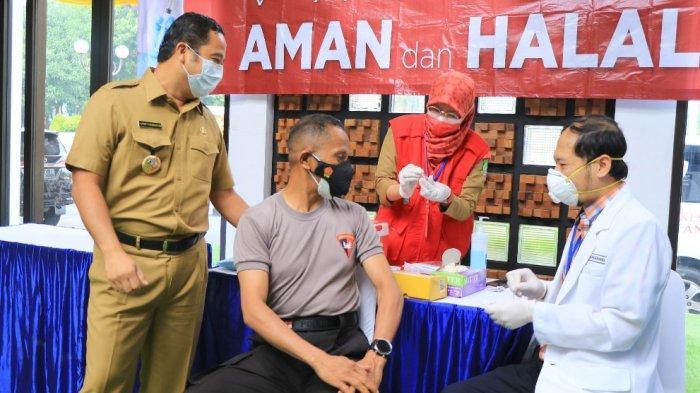 Menyasar Sektor Pelayanan Publik, Vaksinasi Tahap Kedua di Kota Tangerang Sudah Berjalan 50 Persen
