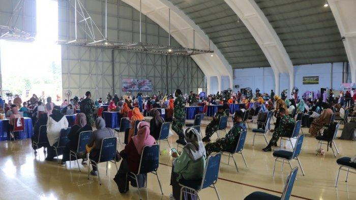 Vaksinasi Covid-19 untuk ribuan anggota keluarga TNI AU