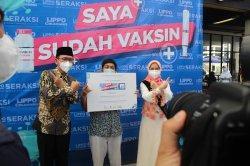 Anak Berkebutuh Khusus Mulai Disuntik Vaksin Covid-19 di District 1 Meikarta, Lippo Cikarang