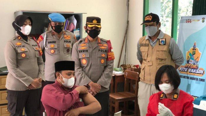 Polrestro Jakarta Timur Gelar Vaksin Gratis untuk Warga, Syaratnya: Minimal 18 Tahun dan Bawa KTP