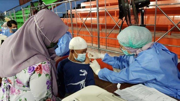 82 Siswa Berkebutuhan Khusus Ikut Vaksin di Posko NasDem, Begini Harapan Sang Guru