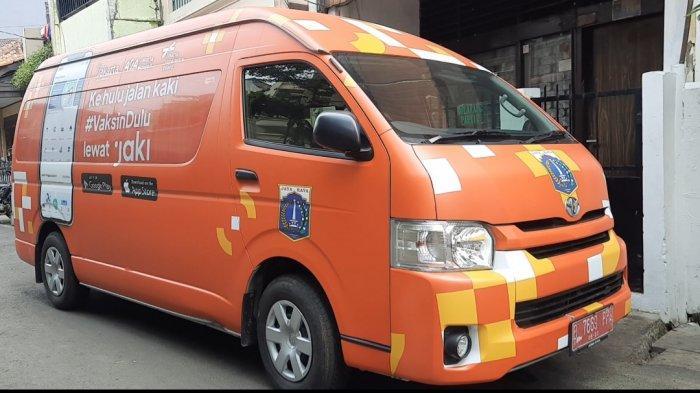Hadir di 7 Lokasi, Cek Jadwal Mobil Vaksin Keliling di DKI Jakarta Hari Ini, Kamis 26 Agustus 2021