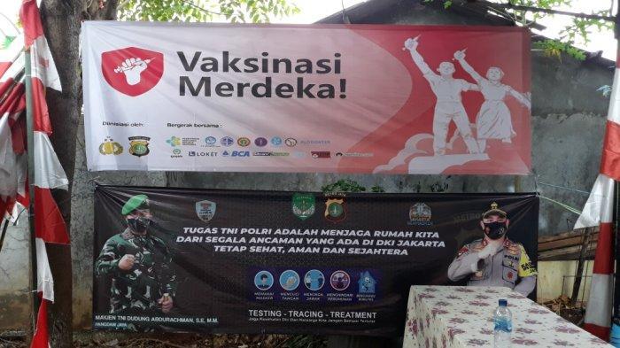 Warga Jakarta Timur Kecewa Vaksinasi Merdeka Batal karena Tim Vaksinator Tak Hadir