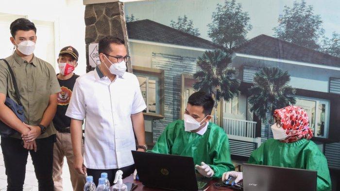 200 Warga Ikuti Vaksinasi Covid-19 Dosis Kedua di Perumahan Trevista Ciputat