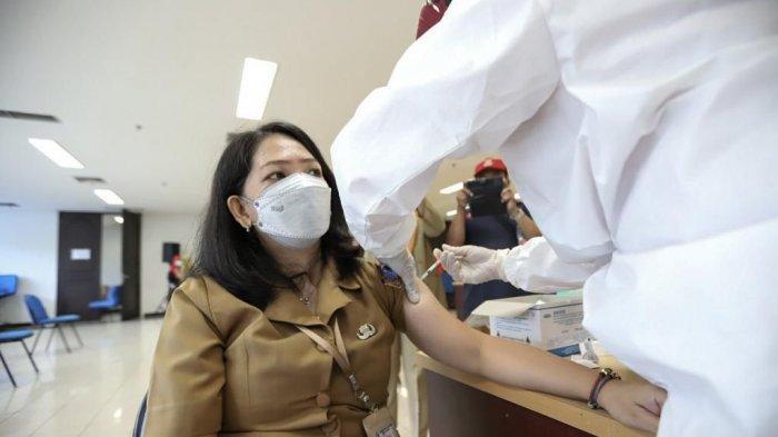 300 PNS di Pemkot Jakarta Pusat Sudah Divaksin Covid-19