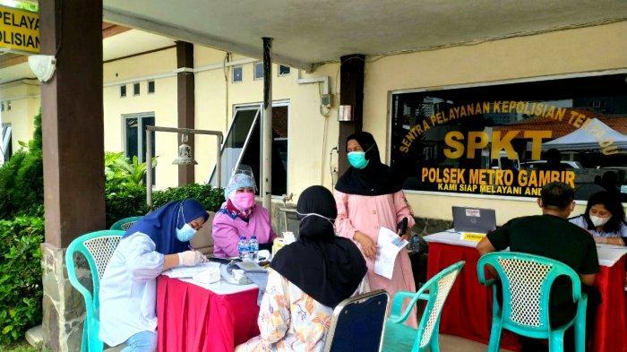Khusus Pemilik KTP Jakarta Bisa Langsung Datang ke Polsek Metro Gambir untuk Suntik Vaksin Covid-19