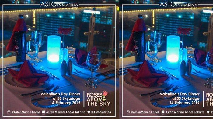 Hari Valentine, Aston Marina Ancol Ajak Pasangan Dinner di Rooftop Tertinggi di Jakarta Utara