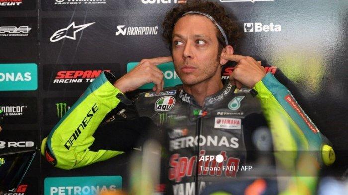 Nyaris di Posisi Belakang, Respons Valentino Rossi Raih Hasil Terbaik MotoGP 2021 di Stadion Mugello