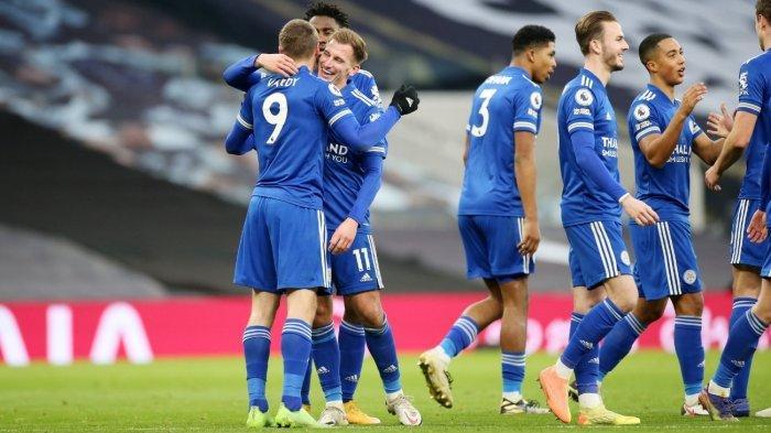 Hasil Lengkap Pertandingan Liga Eropa: Leicester City dan Napoli Berbagi Poin, Klub Gerrard Ambruk