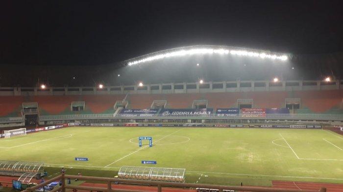 Venue pertandingan Liga 1 di Stadion Pakansari, Bogor