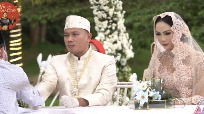 Sah Jadi Suami Kalina Ocktaranny, Vicky Prasetyo Santai Sambil Berjoget Bahas Malam Pertama