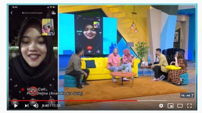 Video Call Raffi Ahmad, Putri Delina Bahas Soal Sule & Nathalie Holscher: Sebenarnya Mah Gak Setuju