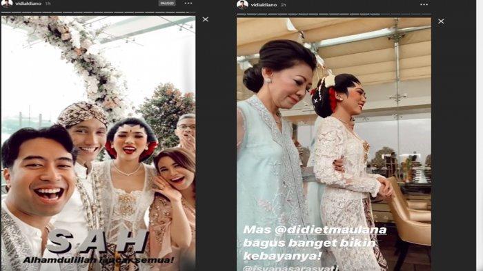 Terkuak Detik-detik Pernikahan Isyana Sarasvati & Rayhan di Bandung, Vidi Aldiano Sempat Berteriak