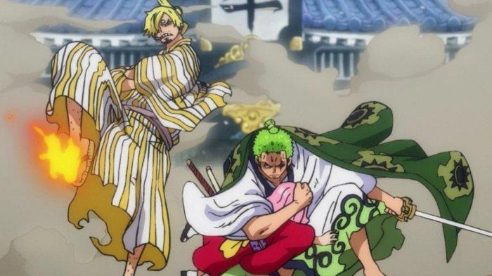 One Piece Chapter 1012, Ketika Para Fans Saling Debat, Vinsmoke Sanji dan Roronoa Zoro Bahu-Membahu