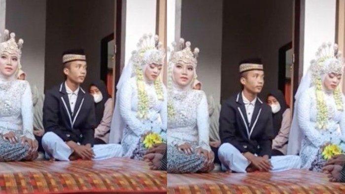 Viral seorang pria menikahi dua wanita sekaligus. Begini cerita lengkapnya.