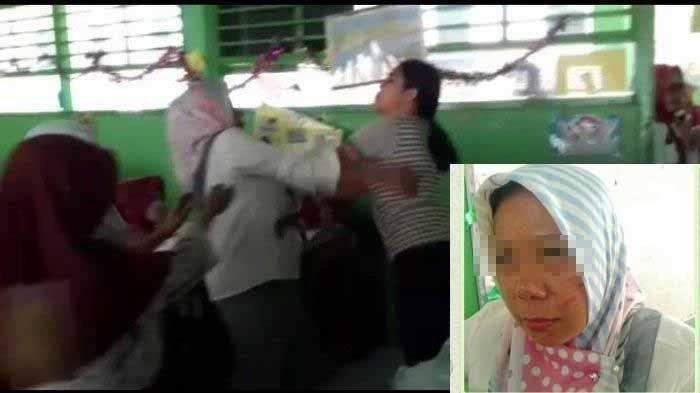 3 Fakta Terkait Viral Video Bu Guru Astiah Dikeroyok Wali Murid Saat Ngajar:  Ternyata Ini Pemicunya