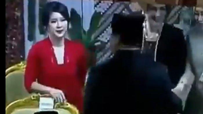Usai Viral Megawati Tidak Salami Surya Paloh, Kini Muncul Video Prabowo Tidak Salami Grace Natalie