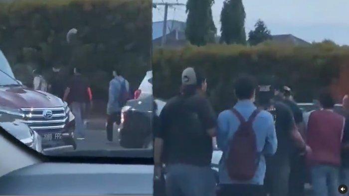 Viral Petugas Dishub Kota Bekasi Dikeroyok Sekelompok Pria: Dipukuli di Jalan, Helm Sampai Melayang