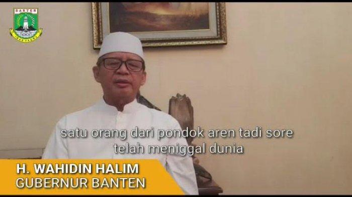 Berbatasan dengan Jakarta, Gubernur Banten Minta Tangerang Raya Ikut Ajukan PSBB