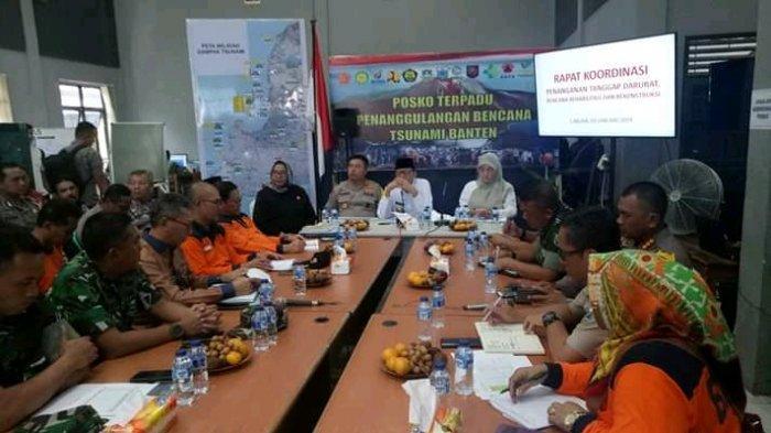 Pasca-Tsunami Selat Sunda, Gubernur Banten Minta Warga Direlokasi Jauhi Pantai
