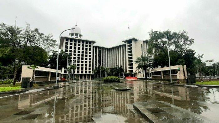 Masjid Istiqlal Siap Gelar Salat Tarawih, Jemaah Diminta Bawa Sajadah Bersih dari Rumah