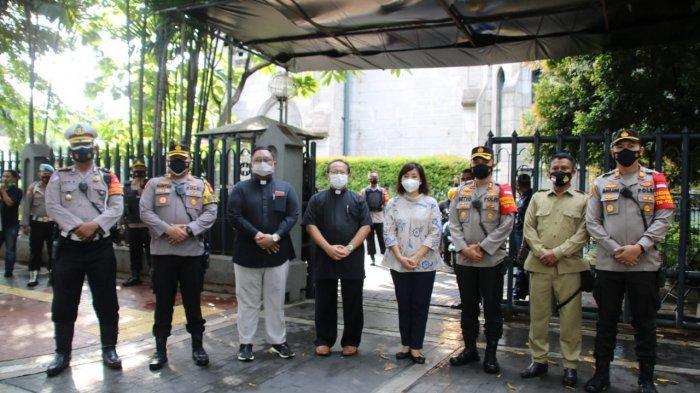 Polda Metro Jaya Kerahkan 5.800 Polisi Amankan Perayaan Paskah di 830 Gereja