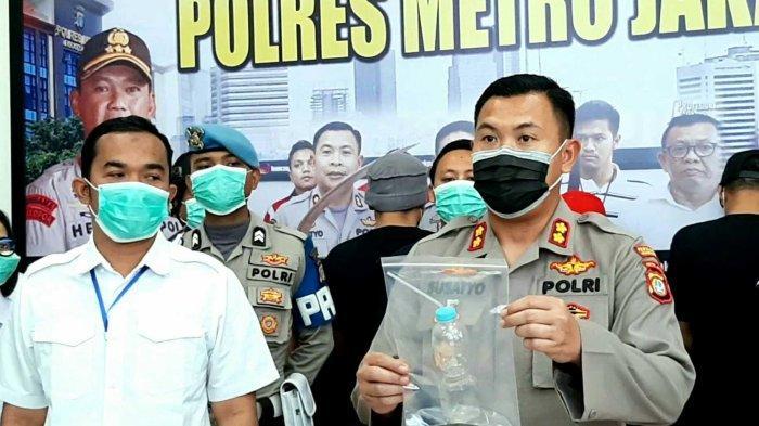 Polisi Amankan 4 Pengguna Sabu di Jakarta Pusat