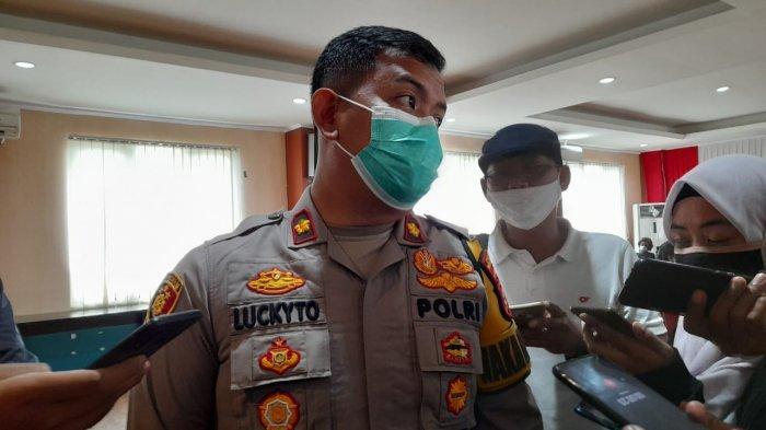 Wakapolres Tangsel, Kompol Stephanus Luckyto, di Mapolres Tangsel, Jalan Raya Promoter, Serpong, Senin (7/12/2020).