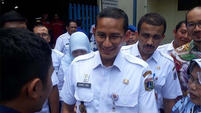 Anies Baswedan Ganti Dirut Jakpro, Sandiaga Uno: Ini Bagian Penyegaran