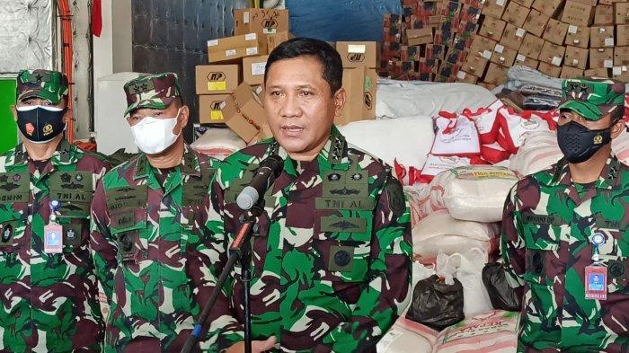 Wakasal Lepas KRI Semarang Berisi Bantuan untuk Warga Korban Bencana Alam di NTT