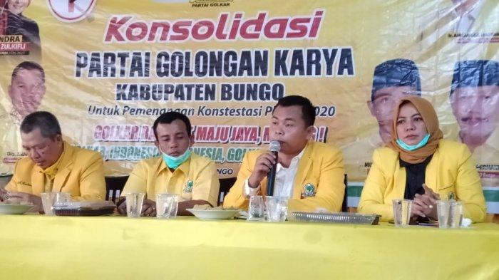 Kader Kosgoro 57 Pertanyakan Wacana Penyelenggaraan Mubes di Cirebon