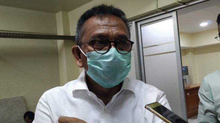 Wakil Ketua DPRD DKI Mohamad Taufik saat ditemui di DPRD DKI, Kebon Sirih, Jakarta Pusat, Rabu (30/9/2020).