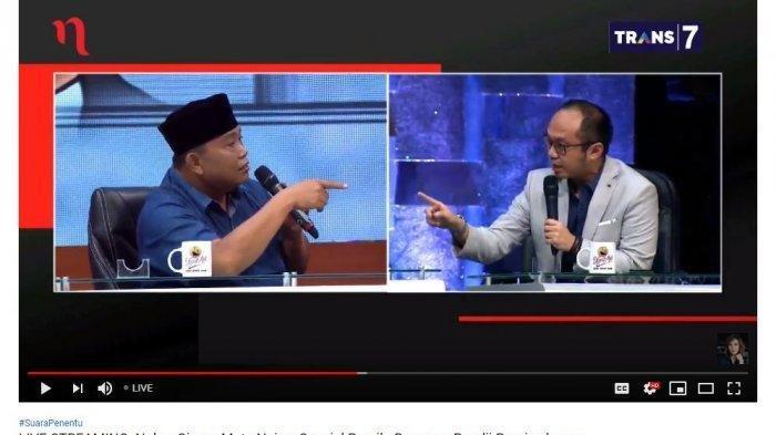 Poyuono Ragukan Kredibiltas Charta Politika & Bahas Kesalahan di Pilkada DKI, Yunarto Wijaya Terdiam