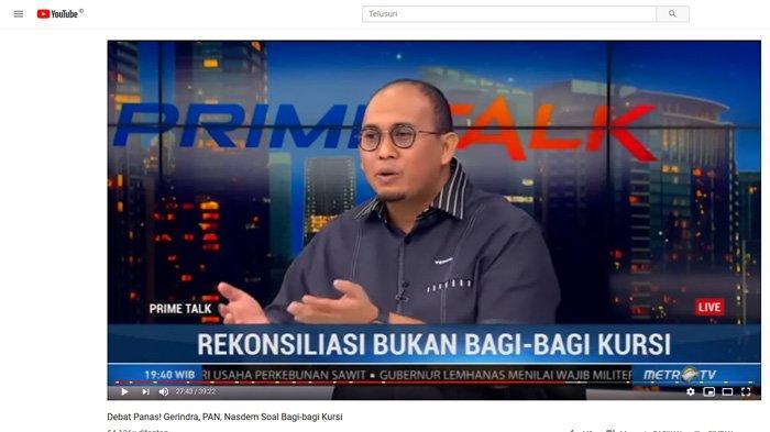 Sebut Gerindra Bisa Jadi Oposisi Loyal, Andre Rosiade: Pak Jokowi Punya Kabinet, Kami Bikin Bayangan