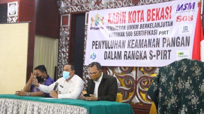 Pemkot Bekasi dan KADIN Fasilitasi Penerbitan SP-PIRT untuk UMKM