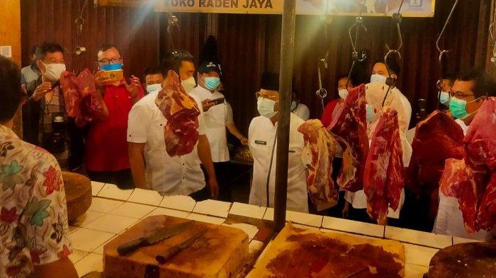 Wakil Wali Kota Blusukan ke Pasar Anyar Cek Pasokan Pangan Menjelang Ramadan 1442 H