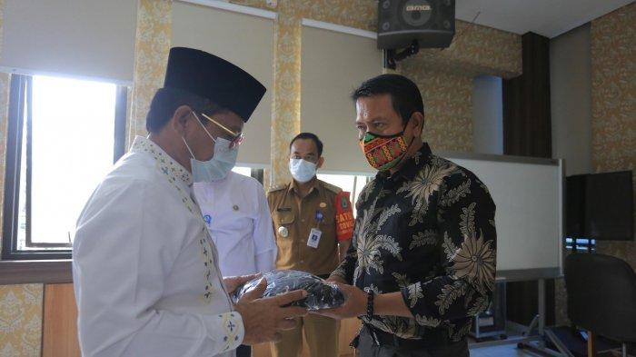 63.500 Masker di Bagikan Pemerintah Kota Tangerang di Kecamatan Karawaci