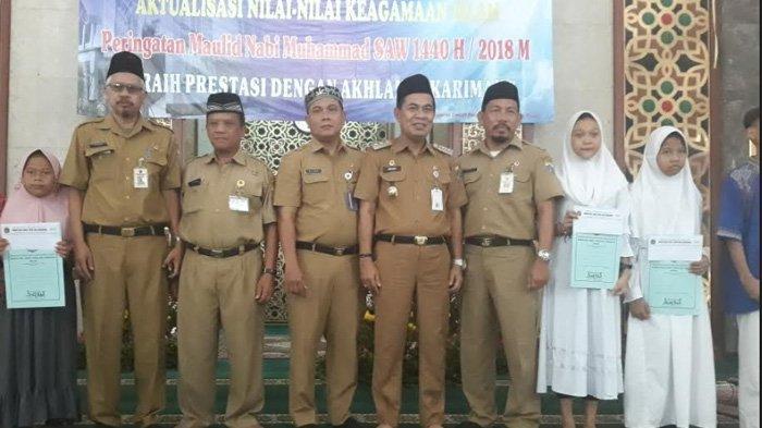 Pemkot Jakarta Pusat Beri Santunan kepada 100 Anak Yatim
