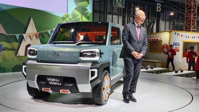 Akankah WakuWaku Diproduksi untuk Saingi Jimny, Ini Penjelasan Bos Daihatsu