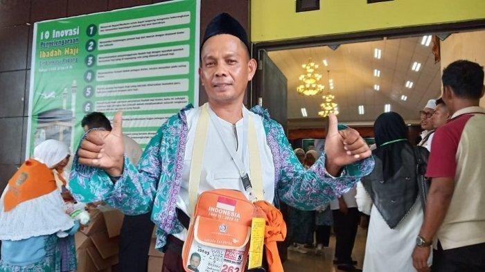 Kisah Waldi Idrus Bareng Istri Bisa Ibadah Haji Hasil Kumpulkan Upah Jadi Sopir Selama 20 Tahun
