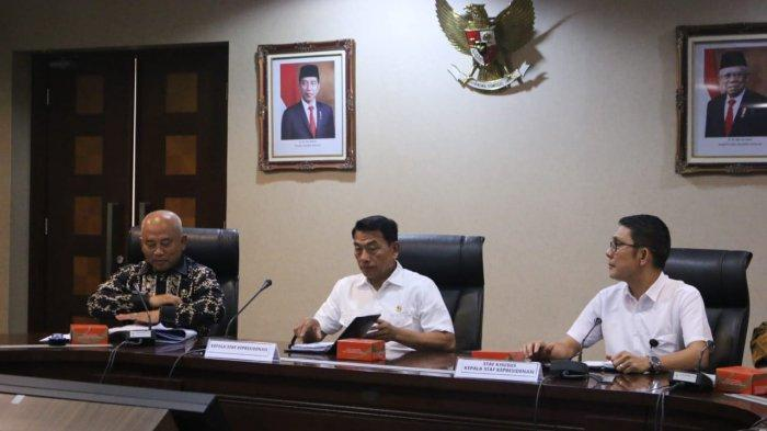 Wali Kota Bekasi Temui Moeldoko di Istana Negara Bahas Masa Depan Jamkesda KS-NIK
