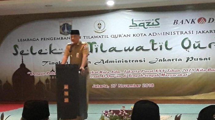 Seleksi Tilawatil Quran, Wali Kota Bayu Meghantara Harap Jakpus Bisa Mewakili ke Tingkat Nasional